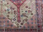 Antique Turkish Sparta  rug distressed estate carpet 13.2 x10 Worn Shabby Chic