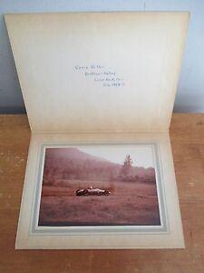 Original 1960s  Auto Racing Photo ERNIE DE VOS, Brabham-Holbay, Lime Rock CT