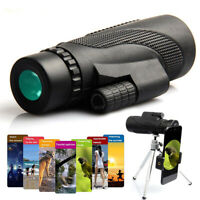 High Power Monocular Telescope For Phone Waterproof 40x60 HD Zoom BAK4 Prism FMC