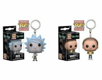 Funko - POP Rick and Morty Rick Morty Mr. Meeseeks Keychain