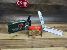 Case XX 2008 Limited Edition Pearl Premiere Canoe Knife Mint in Box CAP7994 - B9