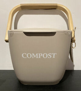 Bamboo Compost Bin Kitchecraft • BNIB