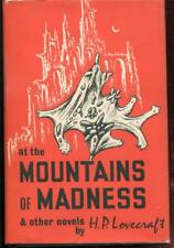 At The Mountains of Madness & Other H.P. Lovecraft Arkham House HCDJ 1st/3rd EXC
