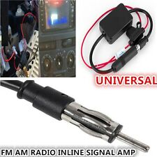 ANT-208 12V Car Truck Antenna Radio FM AM inline Signal Amp Amplifier Booster