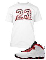 Tee Shirt to Match Air Jordan 10 Graduation Shoe Custom Graphic  Tshirt