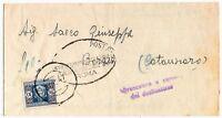 Tasse - lire 10 -  Sass 95 - isolato per Borgia  - 1947