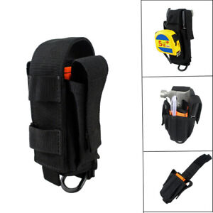 Tactical Molle Multi Tool Pouch Holder Holster with Flap for Plier Pencil Knife