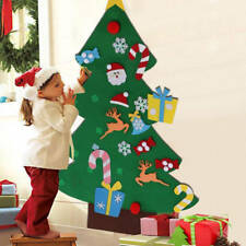 DIY Felt Toddler Christmas Tree New Year Kids Gifts Toys Playtime Kids Tree