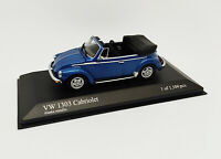 MINICHAMPS 1:43 - VW 1303 Cabriolet Alaska Métallique 1972 1 Des 1104 Pièces