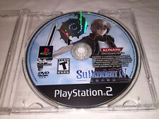 Suikoden IV (Sony PlayStation 2, 2005) PS2 Game in Plain Case Excellent