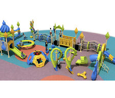 45x30x15 Playground & 3,000 sqft EPDM Flooring Package Special #17 We Finance