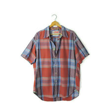 Robert Graham Freshly Laundered Quantum Sport Shirt plaid luxury cotton men's XL