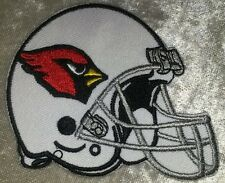 "Arizona Cardinals 3.5"" Helmet Iron On Embroidered Patch ~USA Seller~FREE Ship!"