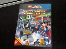 LEGO DC SUPER HEROES ORIGINAL MOVIE JUSTICE LEAGUE VS. BIZARRO LEAGUE DVD (OPEN)