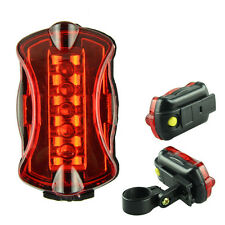New Voberry Safety Warning Diving Flashlight 5 LED Waterproof Bike Tail Light