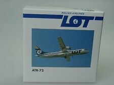 "Herpa Wings ATR-72 ""LOT"" Polish Airlines - 508001 - 1/500"