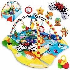Lionelo Anika 2 in 1 Spielmatte Baby Spieldecke Krabbeldecke Laufstallfunktion
