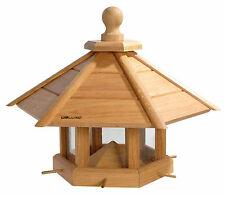 XXL XL Großes Vogelhaus aus Eichenholz Vogelhäuschen Vogelfutterhaus Futterhaus