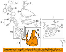 HONDA OEM 13-16 Accord Air Intake-Lower Resonator 172305A2A00