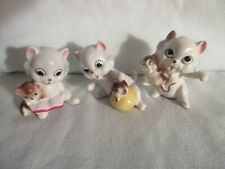 Set of 3 Josef Originals playful Kittens made in Korea w/ orig stickers