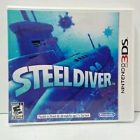 Steel Diver Nintendo 3DS Handheld Video Game New Sealed Packaging Fast Shipping