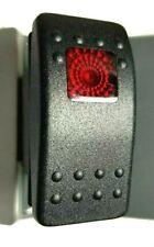 308-1038 Onan Cummins 308-1038 RV Generator Rocker Start Stop Switch Red lens