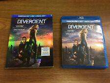 Divergent [Blu-ray + DVD] Shailene Woodley Theo James