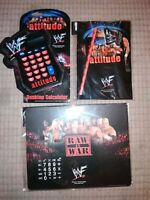 Wwf Raw Is War Attitude Collectable Job Lot