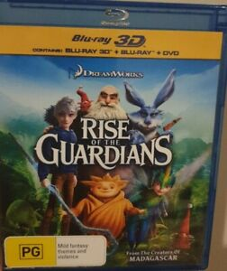 Rise Of The Guardians Blu-ray 3-Disc Set  3D BLU-RAY