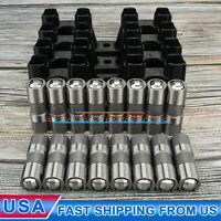 12499225 HL124 For GM LS7 LS2 16 Performance Hydraulic Roller Lifters w/ 4 Trays
