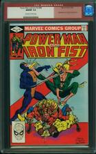 POWER MAN & IRON FIST #84 CGC 9.8 3rd Sabretooth! NEW CASE