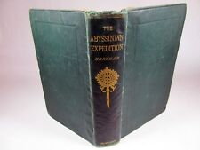 A History of the Abyssinian Expedition by Clements Markham 1869 London Ethiopia