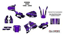 CR 80 graphics kit 1996 1997 1998 1999 2000 2001 2002 CR80 deco kit #2001 Purple
