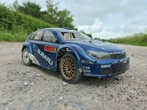 Radio Controlled 1:9 Rally Rc Car Kyosho Drx spares repairs rolling chassis rc