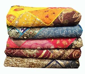 Set of 5 - Wholesale Lot- 5 PC Bedspread Coverlet Quilt Blanket bedding Throw
