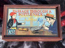 Passage Through a Bottle Neck, Ship in Bottle Model Kit Authentic Models