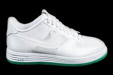 2013 Nike LUNAR FORCE 1 FUSE QS EASTER EGG GREEN SOLE Sz 11.5 WHITE 614491-100