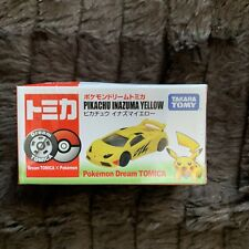 Dream Tomica Pokemon PIKACHU INAZUMA YELLOW Diecast Vechicle TAKARA TOMY NEW