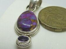 Handmade Purple Sterling Silver Fine Necklaces & Pendants
