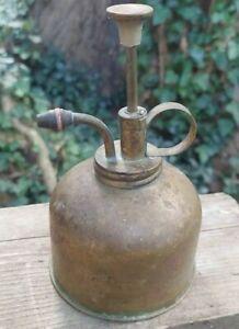 Vintage Brass Plant Mister Atomizer Sprayer # 305 Horticulture Floral