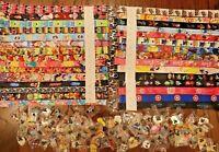 *** Disney Pin Trading Lot Lanyard Starter Set With 4 Lanyards and 50 Pins ***