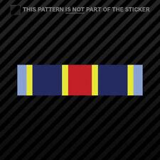 Navy - Marine Corps Overseas Service Ribbon Sticker Self Adhesive Vinyl USMC