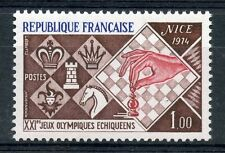 STAMP / TIMBRE FRANCE NEUF LUXE N° 1800 ** XXI JEUX OLYMIQUES ECHIQUEENS