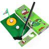 Bathroom Golf Set Putting Green Tee Flag Humorous Gag Gift Game