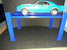4 post model car lift 1/18 1:18 scale Diorama