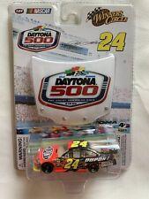 Jeff Gordon #24 2009 DuPont 1:64 Die Cast Car & 2009 Daytona 500 Hood Magnet