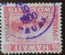 Hawaii stamp #81 2 cents Kauai April 10 1900 cancelled