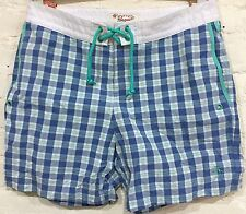 "Original Penguin Board Shorts Size 31 Length 16"" Volley Fit Surf Swim Trunks"