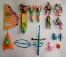 Playmates Toxic Crusaders Vehicle/figures and accessories lot.