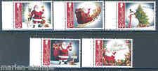 GIBRALTAR 2012 CHRISTMAS 2012 SET OF FIVE MINT  NH